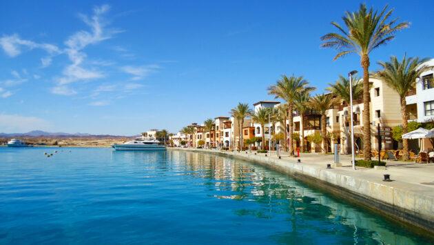 Ägypten Port Ghalib Promenade