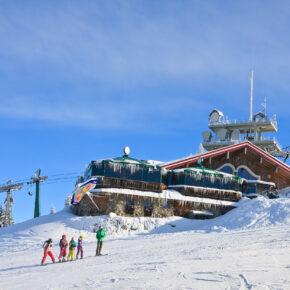 Österreich Dachstein Schladming Ski