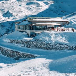 Österreich Hintertux Gletscher Zillertal Ski