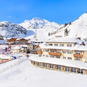 Österreich Obertauern Skipiste