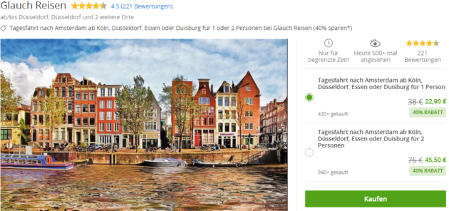 1 Tag Amsterdam