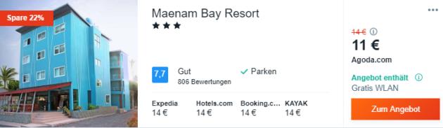 14 Tage Koh Samui Hotel