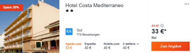 2 Tage Mallorca Hotel