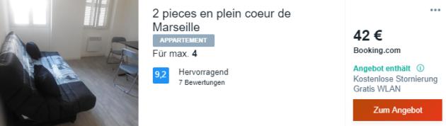 4 Tage Marseille Hotel