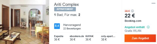 7 Tage Korfu Hotel