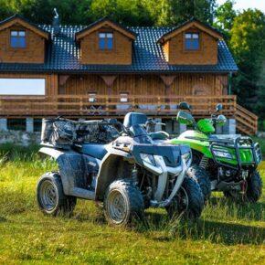 Im Hochsommer: 5 Tage in Traumvilla im polnischen Riesengebirge mit Wellness & Quad-Tour nur 174€