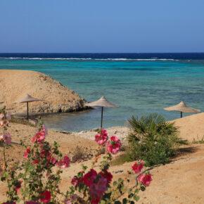 Frühbucherwoche Ägypten: 7 Tage mit TOP 5* Strandhotel, All Inclusive, Flug, Transfer & Zug nur 339€