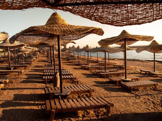 Ägypten Marsa Alam Leerer Strand