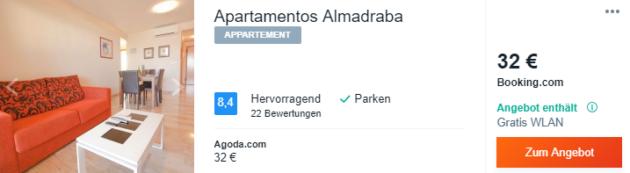 Apartamentos Spanien