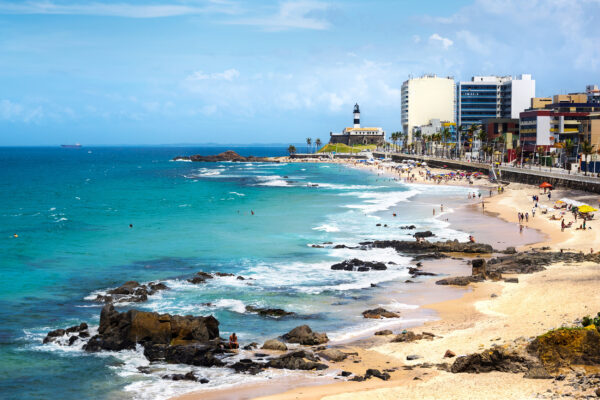 Brasilien Farol Beach