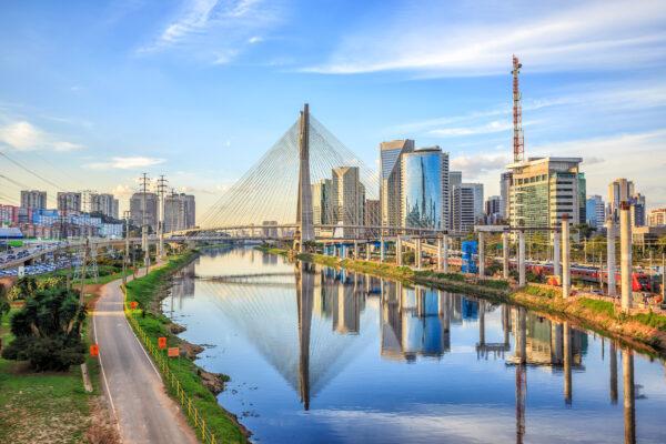 Brasilien Sao Paulo Fluss