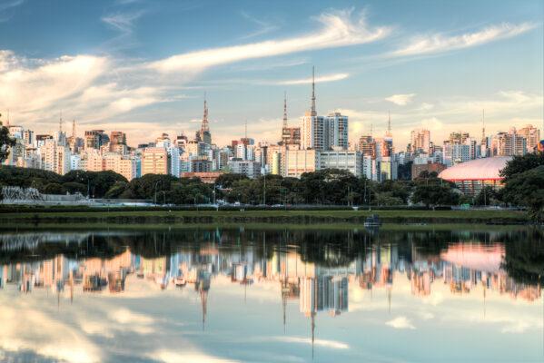 Brasilien Sao Paulo Park