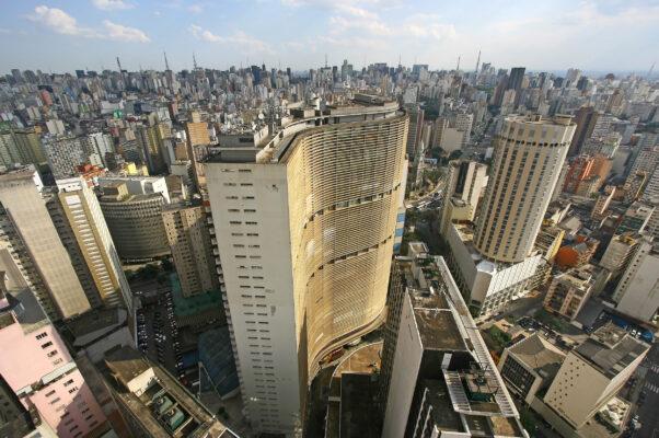 Brasilien Sao Paulo Skyline