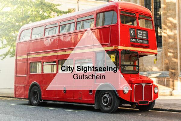 City Sightseeing Gutschein