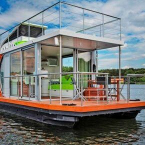 Aye aye: 8 Tage auf eigenem Hausboot bei Berlin ab 233€