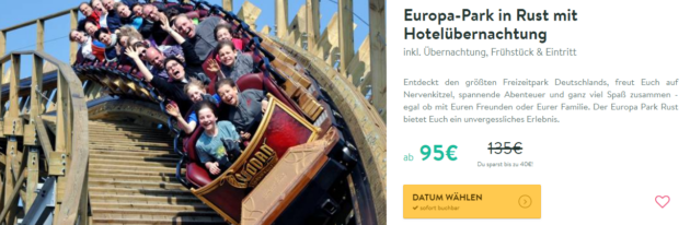 Europa Park 2 Tage Im 4 Mercure Hotel Mit Fruhstuck Inkl