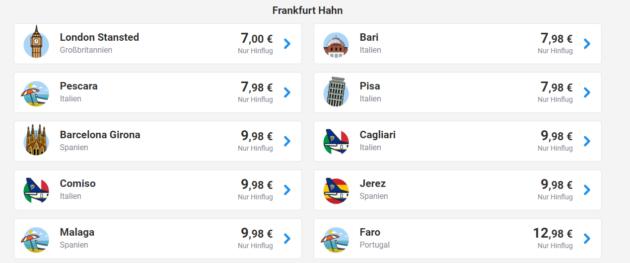 Ryanair Mega Sale Flugtickets Quer Durch Europa Ab 5