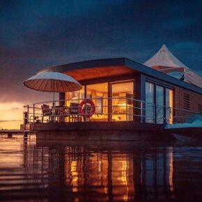 Floating Village in Bayern: 3 Tage im schwimmenden Haus inkl. Frühstück ab 149€