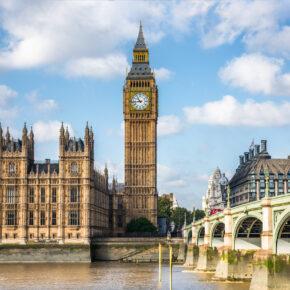 Low Budget: 3 Tage Kurztrip nach London mit zentraler Unterkunft & Flug nur 41€