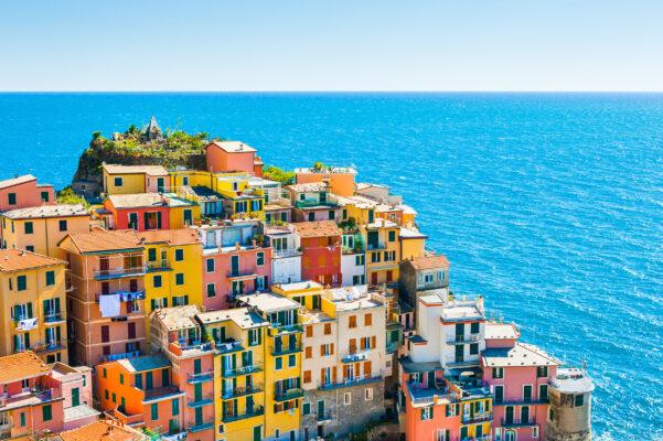 Italien Cinque Terre Manarola