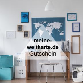 Exklusiver meine-weltkarte.com Gutschein: spart 15% auf Eure Erinnerungen