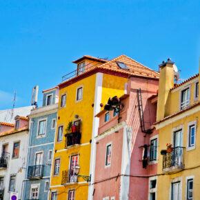 Wochenende in Lissabon: 3 Tage mit zentraler Unterkunft, Frühstück & Flug nur 78€