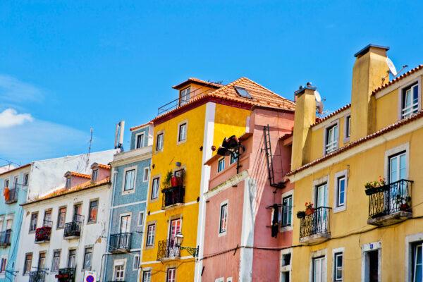 Portugal Lissabon Altstadt Frühling