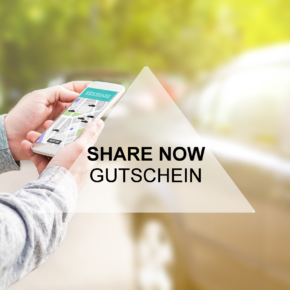 SHARE NOW Gutschein