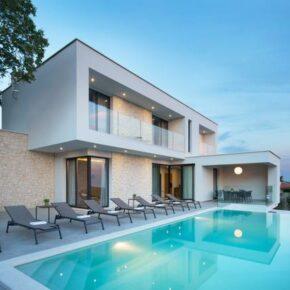 Kroatien: 8 Tage in einer stylischen Villa in Istrien mit Meerblick & Pool ab 199€