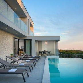 Sveti Lovrec Villa Pool