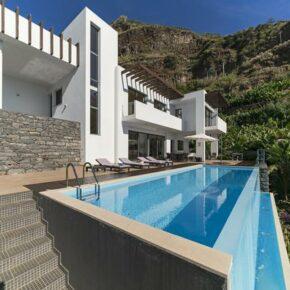 Auszeit in Portugal: 8 Tage Madeira in Design-Villa mit eigenem Infinity-Pool ab 179€