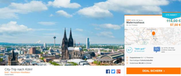 2 Tage Köln