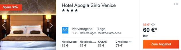 3 Tage Venedig