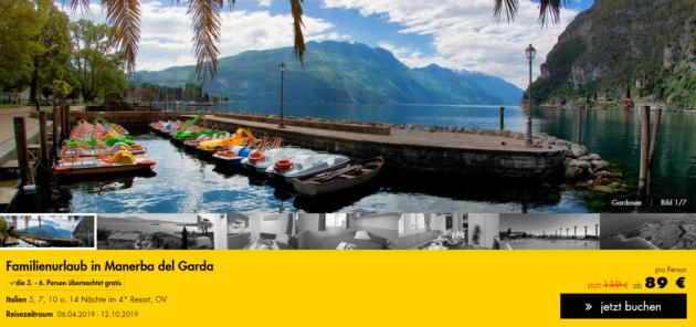 6 Tage Gardasee