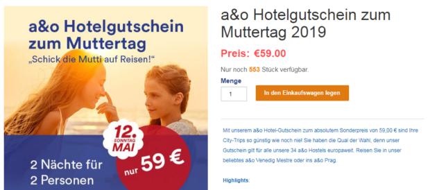 AO Gutschein