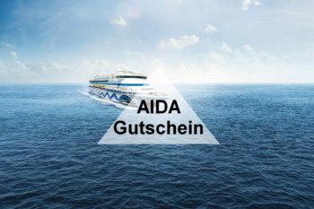AIDA Gutschein: Spart 100€ auf Eure Kreuzfahrt