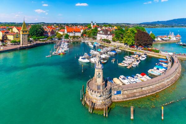 Bodensee Lindau Hafen