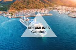 Dreamlines Gutschein: Sichert Euch 200€Bordguthaben im März
