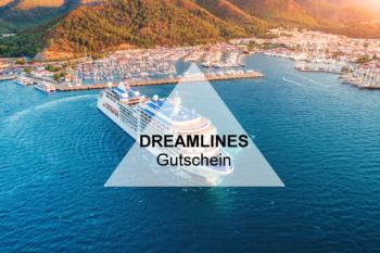 Dreamlines Gutschein: Sichert Euch 200€Bordguthaben im Dezember