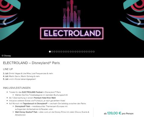 Electroland Disneyland