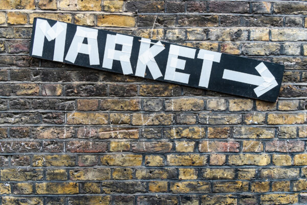 England London Markt