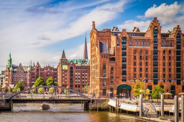 Hamburg Speicherstadt Häuser