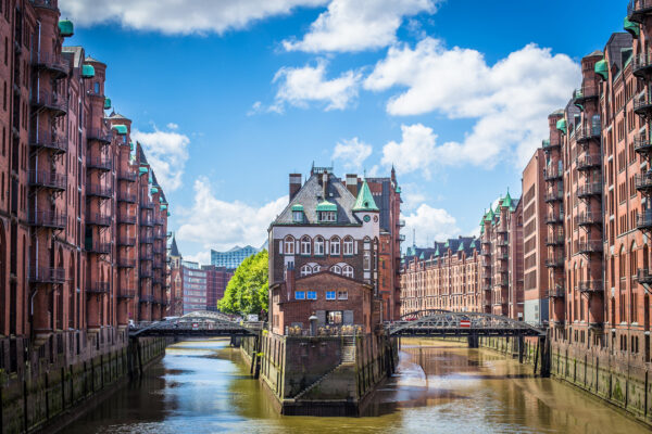 Hamburg Speicherstadt Kanäle