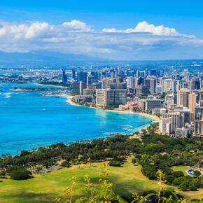 Hawaii Honolulu Küste