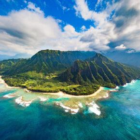 Hawaii Kauai Küste