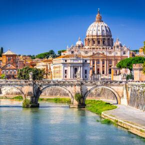 Schlemmen & Sightseeing: 3 Tage Kurztrip nach Rom mit TOP 4* Hotel & Flug nur 77€