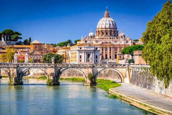 Italien Rom Petersdom Fluss