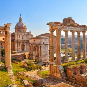 Kurztrip nach Rom im August: 3 Tage mit zentraler Unterkunft, Frühstück & Flug nur 99€