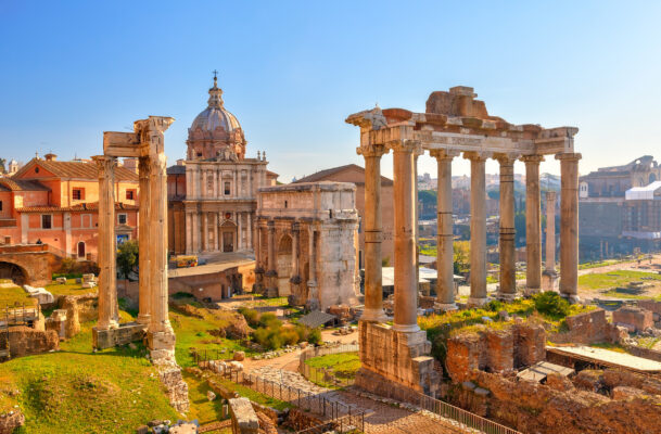 Italien Rom Forum Romanum