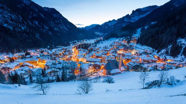 Italien Trentino Dorf